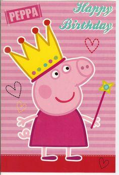 Peppa Pig card