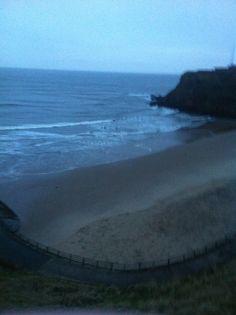 King eddies beach looking to north tynemouth piker 7.59am Sunday 26 th January 2014