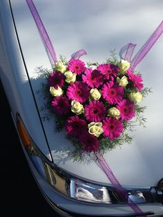 Pretty in Pink so Boho  Limo Wedding Flowers