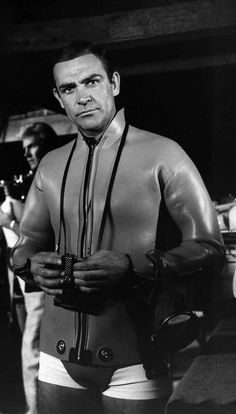Sean Connery in 'Thunderball', 1965.