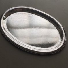 Georg Jensen Sterling Silver Meat Platter or Serving Tray No. 290B