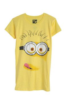Dispicable Me Minion Tee-Fits Mark perfectly!!
