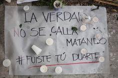 Colocan altar en el edificio donde asesinaron a Rubén Espinosa, Nadia Vera y otras 3 mujeres. Foto: Miguel Dimayuga