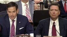 Marco Rubio Asks Question That Shuts Down Comey, He's Speechless