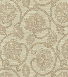Upholstery Fabric-Waverly Siam Scroll Plum...JoAnns Online