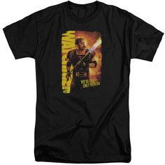 Watchmen/Smoke Em Short Sleeve Adult T-Shirt Tall in