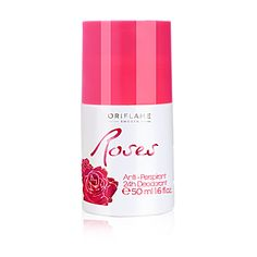 Antiperspirant deodorant 24h Roses