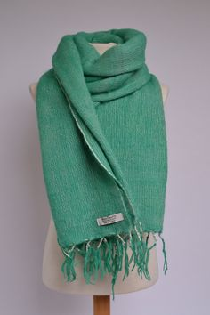 100% YAK Wool Blanket/Hand-Woven Shawl/Sofa Throw/Chunky Knit Scarf/Boho clothing/Baby Wrap/Meditation Blanket/Travelling Wrap
