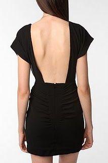 Little black dress......