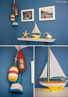 Life & Baby | Baby Showers : Parties : Nurseries : Baby Products : Baby Deals: {NURSERY} Parker's Nautical Nursery