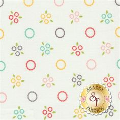 Flower Mill 29033-11 Pompom Daisy by Corey Yoder for Moda Fabrics: Flower Mill is a fun floral collection by Corey Yoder for Moda Fabrics.Width: 43