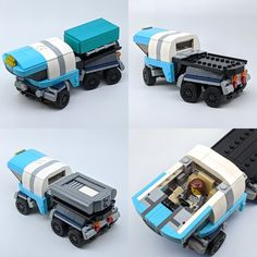 Legos, Lego Building, Building Ideas, Truck Detailing, Lego Guns, Utility Truck, Lego Speed Champions, Lego Pictures, Lego Store