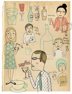 Cut+Paste » Inspiring Illustrator: Keri Smith