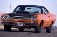 69 1/2 Plymouth Road Runner with the A12 package