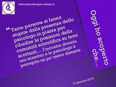 disclosure #72 #psicologoinpiazza #scienzacoscienza