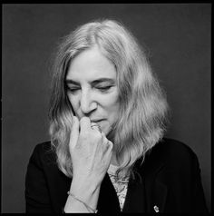 Patti Smith (1946) - American singer-songwriter, poet and visual artist. Photo © Jesse Dittmar