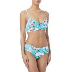 22e77ca967 Coco Reef Enrapture Bra Sized Wrap Underwire Bikini Top - Cliff Rose  Tankini Top