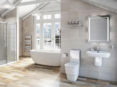 Princeton Bathroom Suite Range Victoria Plumb Clean White And Simple