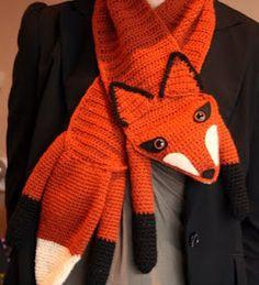 fox scarf! :)