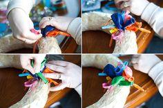 Balloon Birthday Wreath Tutorial! | Bits of Everything