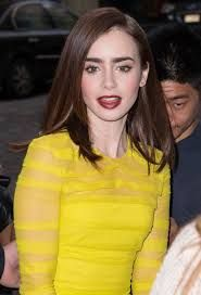 Image result for lily collins il cielo