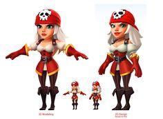 ArtStation - IR 3D characters game, Julien Lagrid