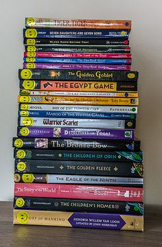 Story of The World Volume 1: Ancient Times Book List by airskull, via Flickr