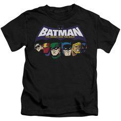 Batman Bb/Head Lineup-Black