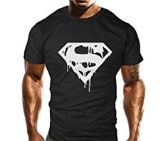 New DRIP Gym T-Shirt - Training Top - Sports - Bodybuilding Casual Loose Fit