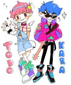 Matsuno Todomatsu and Karamatsu     Osomatsu-san Fan Art by astral06 on Tumblr