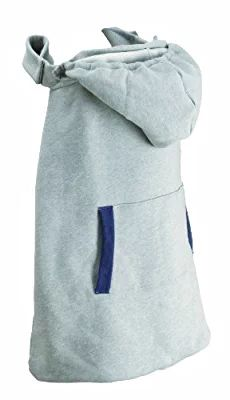 Infantino Hoodie Universal All Season Carrier Cover, Gray (Discontinued by Manufacturer)