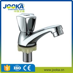 Jooka single cold polished basin faucet bathroom taps