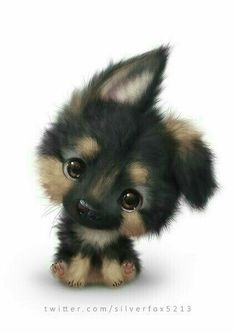 The cutest dog ever! - Chiara - cutest : The cutest dog ever! Baby Animals Super Cute, Cute Little Animals, Cute Funny Animals, Cute Dogs, Pics Of Cute Puppies, Cute Animals To Draw, Cute Kawaii Animals, Adorable Puppies, Adorable Kittens