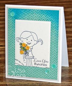 By Lisa Lara using Love You Bunches (SugarPea Designs)