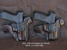 Desbiens Gun Leather 'CQB DS Holster.' $130