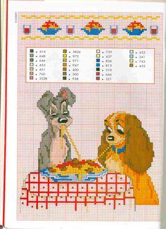 Gallery.ru / Photo # 19 - Baby Camila 1 July-August 1997 - tymannost Lady & the Tramp Spaghetti