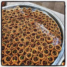 What I would like this morning for breakfast  canary's nests or عش البلبل #albaba #Lebanon #thesouth #lebanese #sweets #latergram by anissahelou