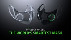 "Razer, known for making gaming accessories, has unveiled what it calls the ""world's smartest face mask."" The prototype includes features like lights and a microphone. Headache And Dizziness, Perfect Posture, Gaming Station, Transparent Design, Gamers, Gaming Chair, New Technology, Brooklyn, Compact"