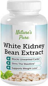 Nature's Pure White Kidney Bean Extract is a starch blocker, a natural supplement that prevents your body from turning the carbs from the foods you consume into fats. If you're a carb junkie, this might be the solution for you