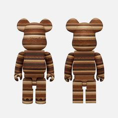 The latest Bearbrick from Medicom, the Horizon, is made from hand finished Karimoku wood