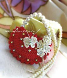 Mini handbag keychain ..