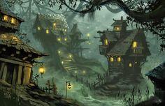 village_of_scale_by_chriskuhlmann-d3asauw.jpg (900×582)