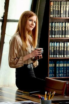 "Abby Whelan in ""Scandal"""