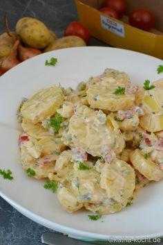Berliner Kartoffelsalat - ein Familienrezept - Rewe Regional Regional, Potato Salad, Potatoes, Ethnic Recipes, Food, Pisa, Yummy Food, Food And Drinks, Kochen
