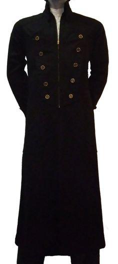 A neat long coat.