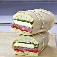 Pressed Italian Sandwiches: perfect for family lunch or picnic!