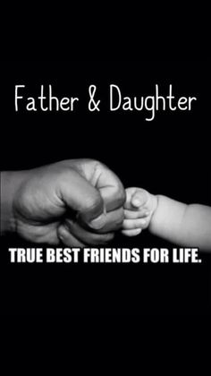 "50 Thoughtful Father's Day Quotes To Show Dad How Much You Care ""Vater und Toch. Daddy Daughter Quotes, Mom And Dad Quotes, Baby Girl Quotes, Fathers Day Quotes, Dad Daughter, Love Quotes For Him, New Quotes, Family Quotes, Funny Quotes"
