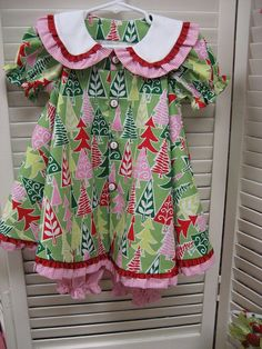 "The pattern is ""Madeline"" by Children's Corner patterns. by iveyc95, via Flickr"
