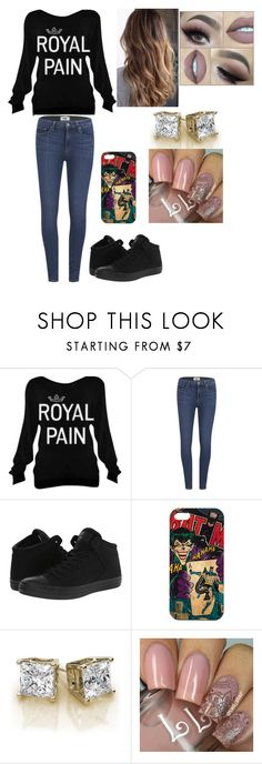 """""""cute lazy day"""" by cheyenneventura ❤ liked on Polyvore featuring Paige Denim, Converse and Hera"""