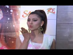 Urvashi Rautela in SHORT outfit at success party of Sanam Re movie.